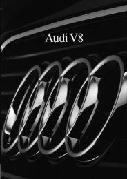 Audi V8 - H-kan.se