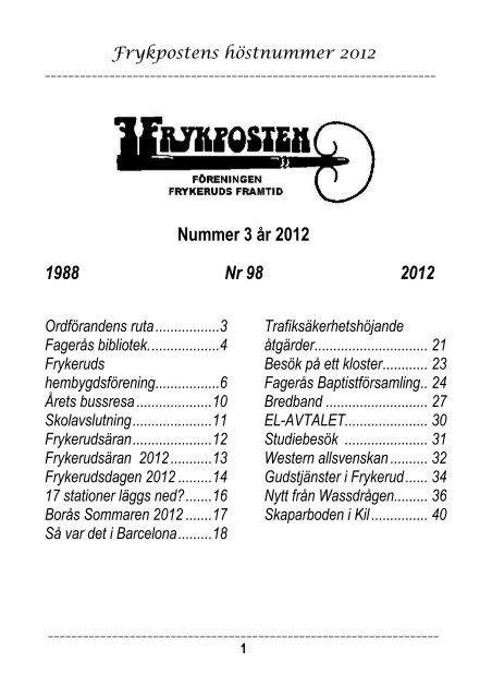 Blankeberg Dlpan 1 Vrmlands ln, Fagers - unam.net