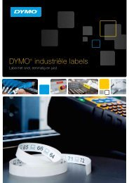 RHINO labels leaflet - DYMO