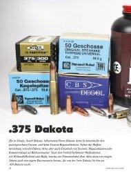 375 Dakota - Jagen Weltweit