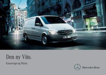 Brochurer til Vito Kassevogn