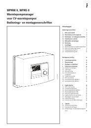 254261-36256-8650 WPM II_nl.indd - STIEBEL ELTRON Belgie