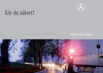 Kör du säkert? - Mercedes-Benz