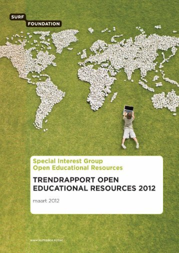 Trendrapport Open Educational Resources, maart 2012 - Surf