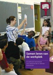 Handboek 'Samen leren van de werkplek' - Surf