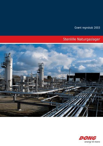 Stenlille naturgaslager 2003 - DONG Energy
