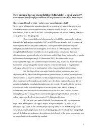 Læs hele Hans Raun Iversens forelæsning her - Samvirkende ...