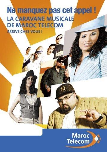 fiche tournée.indd - Maroc Telecom