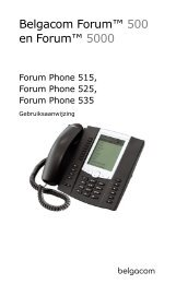 (I)Phone 515/525/535 - support - Belgacom