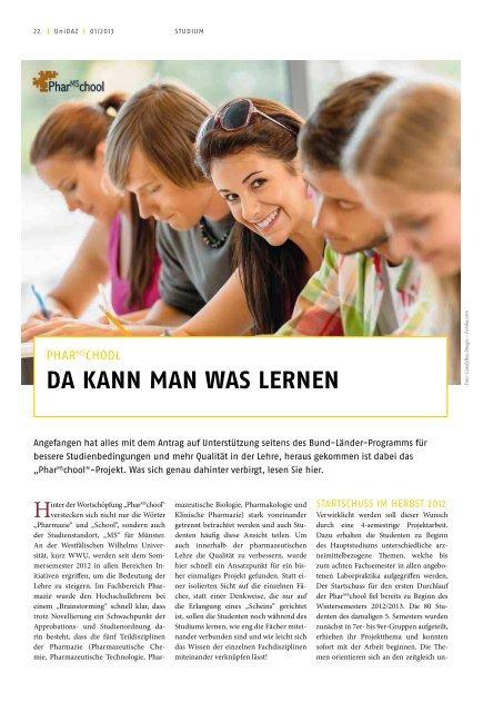 UniDAZ Magazin 2013 als PDF downloaden