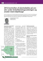 2012-kontrollen af plantedække på are - LandbrugsInfo