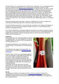 Økologisk dyrkningsvejledning for Rabarber - LandbrugsInfo - Page 3