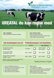 UREATAL du kan regne med - LandbrugsInfo