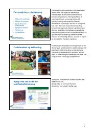 Før sprøjtning - planlægning - LandbrugsInfo