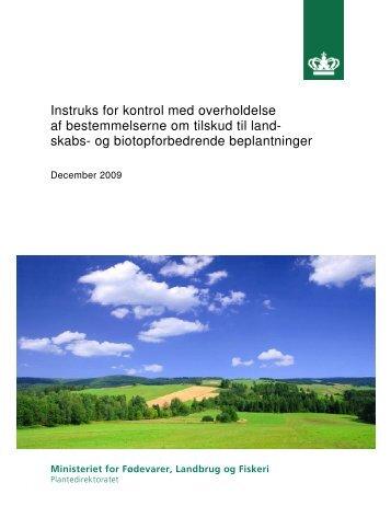 skabs- og biotopforbedrende beplantninger - LandbrugsInfo