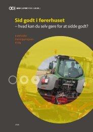 Sid godt i førerhuset - LandbrugsInfo