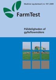 Pålideligheden af gylleflowmålere - LandbrugsInfo