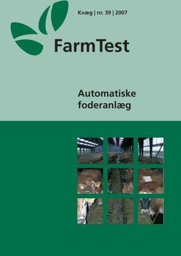 Automatiske foderanlæg - LandbrugsInfo