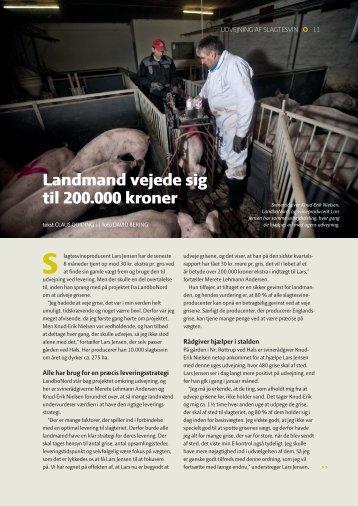 Landmand vejede sig til 200.000 kroner - LandbrugsInfo