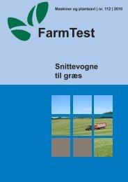 Snittevogne til græs - LandbrugsInfo