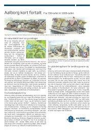 Aalborg kort fortalt. Fra 700-tallet til 1600-tallet - Aalborg Kommune