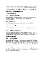 FN standardregler i kort form - Aalborg Kommune