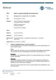 Beboer og pårørenderaften Annebergcentret - Aalborg Kommune