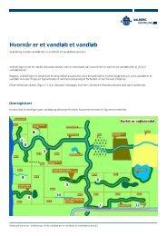 Vejledning i vandløb omfattet af vandløbsloven - Aalborg Kommune