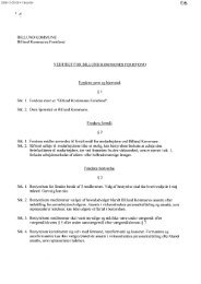 vedtægterne for Billund Kommunes Feriefond
