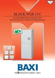 Block WGB 15 C - Privatgrossisten
