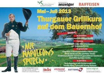 Thurgauer Grillkurs auf dem Bauernhof - Verband Thurgauer ...