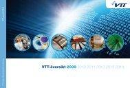 VTT-översikt 2009 2010 2011 2012 2013 2014