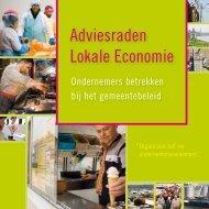 Adviesraden Lokale Economie - VVSG
