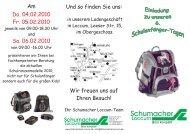 Schumacher - Gustav Schumacher GmbH & Co. KG in Rehburg ...