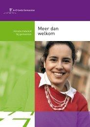 Meer dan welkom (A+O Fonds gemeenten) (pdf, 1.28 MB) - Diverscity