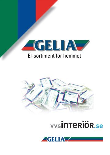 Gelia el sortiment för hemmet 2010 PDF, 3 MB