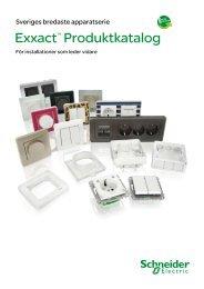 Schneider Electric - Exxact katalog PDF, 23 MB