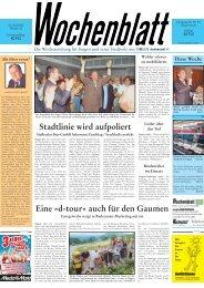 27. Juli 2005 - Singener Wochenblatt
