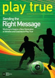 Issue 2 - 2010 / Sending the Right Message - World Anti-Doping ...