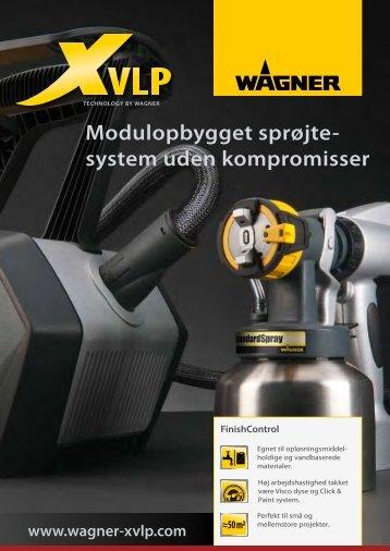 Modulopbygget sprøjte- system uden kompromisser - WAGNER-Group