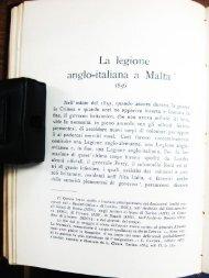 La leg10n e anglo-italiana a Malta