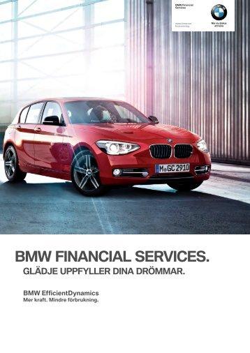 Ladda ner Broschyr BMW Financial Services