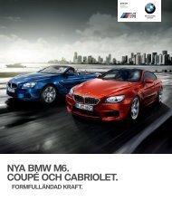 NYA BMW M. COUPÉ OCH CABRIOLET.