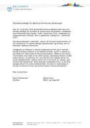 Styrelsesvedtægt for Ballerup Kommunes skolevæsen