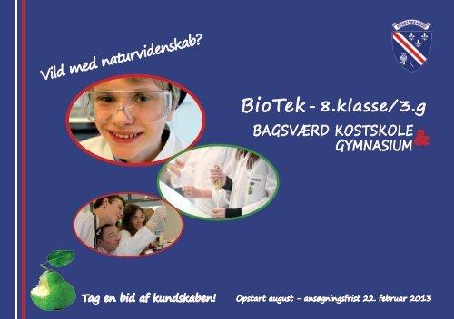 BioTek folder - Bagsværd Kostskole & Gymnasium