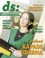 DS (pdf 4 400 kB, öppnar nytt fönster) - Försäkringskassan