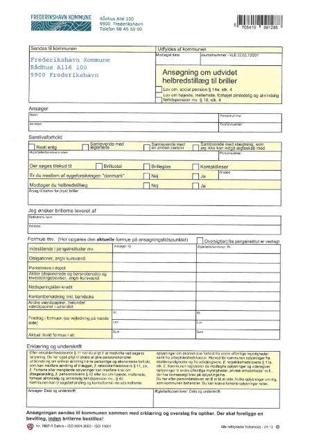 Ansøgning og erklæring til briller.pdf - Frederikshavn Kommune