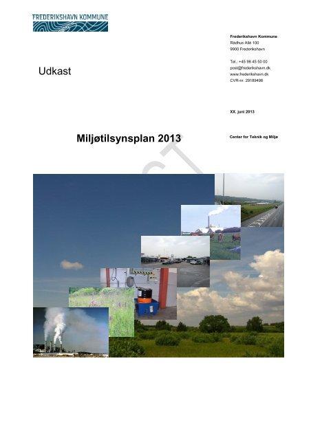 Udkast Miljøtilsynsplan 2013 - Frederikshavn Kommune