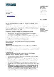 Miljøtilladelse - Frederikshavn Kommune