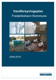 Vandforsyningsplan 2009-2019 - Frederikshavn Kommune